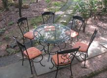 bàn ghế trang trí sân vườn bh-10184