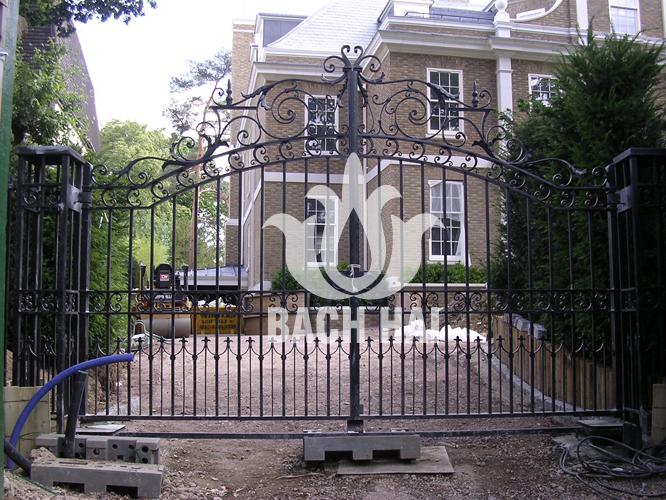 cửa cổng đẹp biệt thự ws-10218