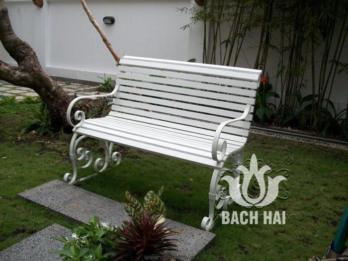 ghế dài trang trí sân vườn bh-10132