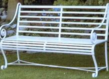 ghế dài trang trí sân vườn bh-10133