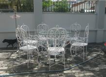 bàn ghế trang trí sân vườn bh-10183