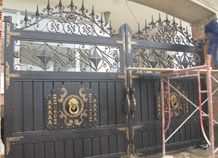 cổng sắt tấm bh-10197