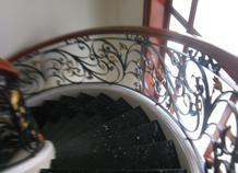 cầu thang sắt rèn bh-10137