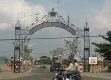 Cổng chào khu đất dự án bh-10155
