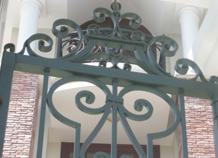 cửa cổng phụ sắt đặc bh-10127