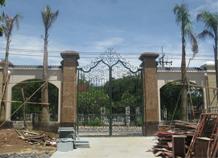 cửa cổng sắt đặc bh-10125