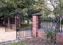 hàng rào biệt thự vườn ws-10086