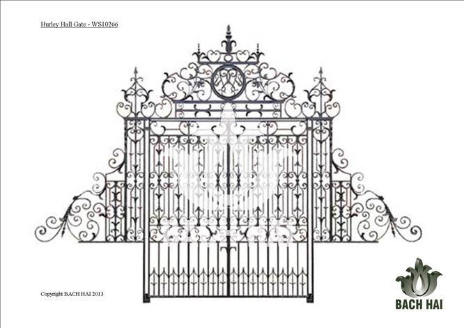hurley hall gate - ws10266