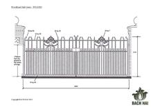 woodhead hall gates - ws10283