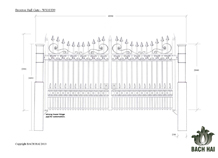 broxton hall gate - ws10339