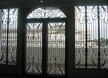 khung cửa sắt đẹp bh-10136