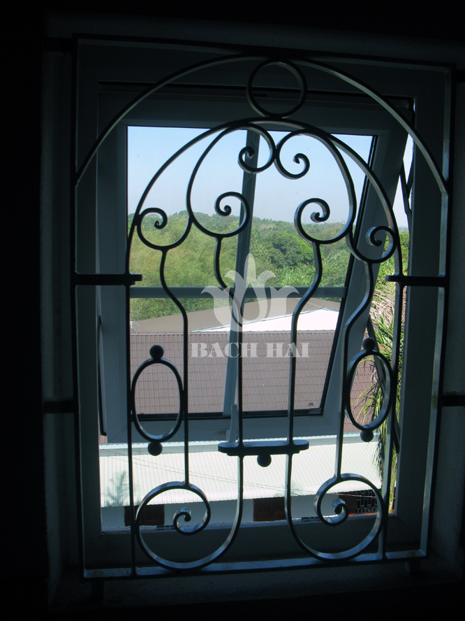 khung cửa sổ sắt đẹp