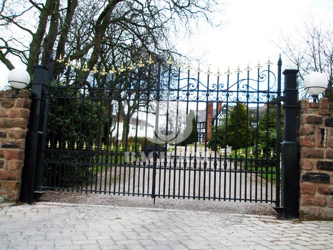 Cổng đẹp biệt thự WS-10339