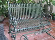 ghế dài trang trí sân vườn bh-10131